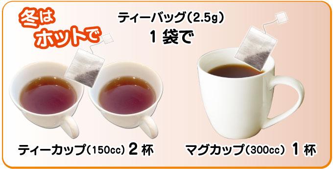 玄米茶ティーバッグの美味しい飲み方