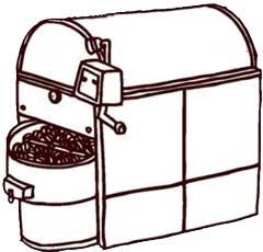 玄米焙煎機